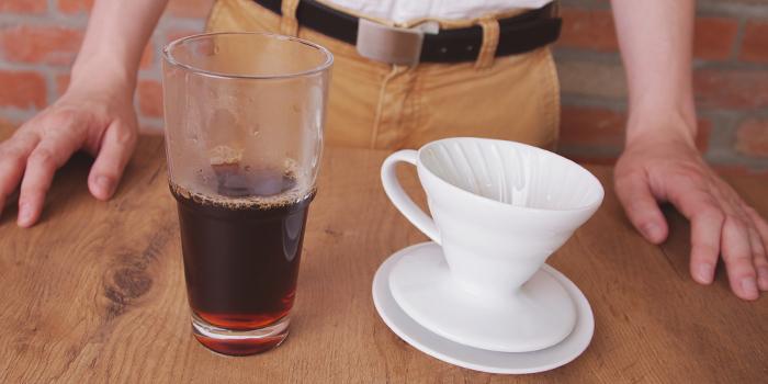 Hario V60. Kahvikaveri