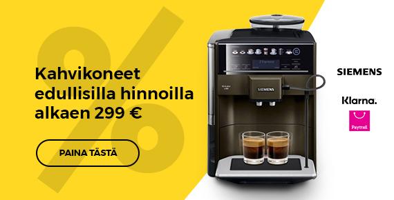 TOP kahvikoneet alkaen 289€