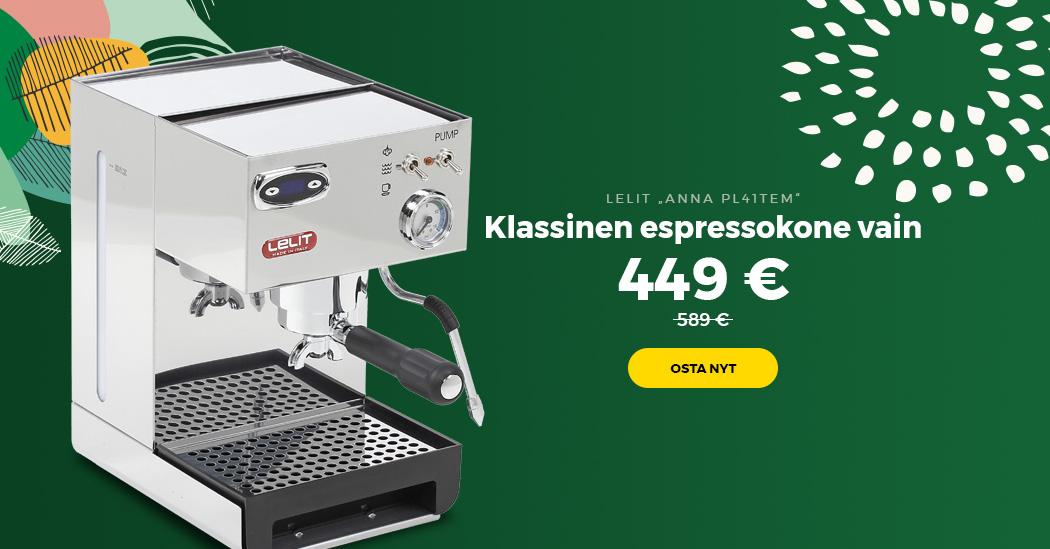 "Klassinen espressokone LELIT ""Anna PL41TEM"""