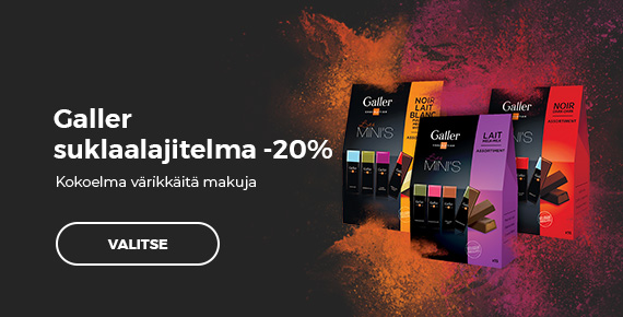 Galler suklaalajitelma -20%
