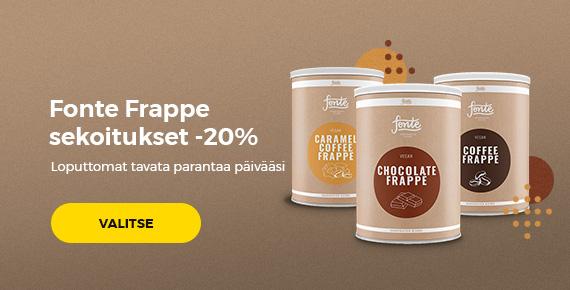 Fonte Frappe sekoitukset -20%