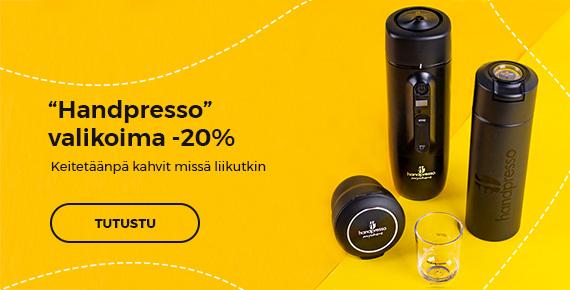 """Handpresso"" valikoima -20%"