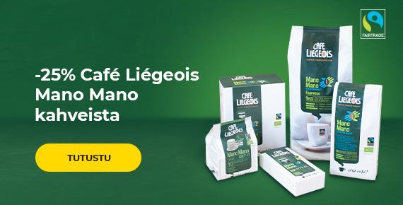 Reilun kaupan Mano Mano kahvi -25%