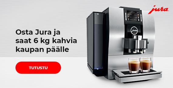Osta Jura ja saat 6 kg kahvia kaupan päälle