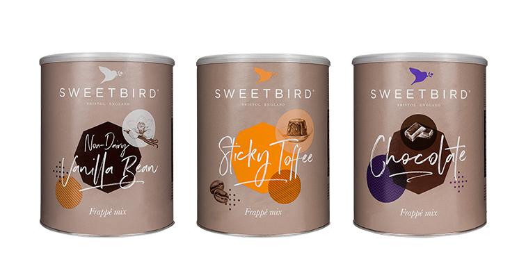 Sweetbird frappe sekoitukset -25%