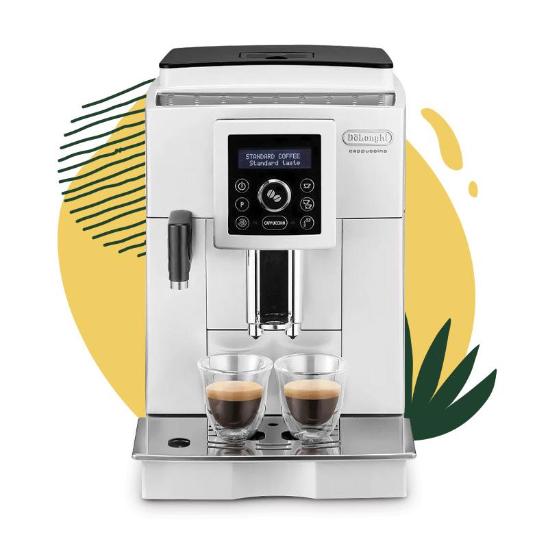 """De'Longhi """"ECAM 23.460.W"""" kahvikone 429 €"""