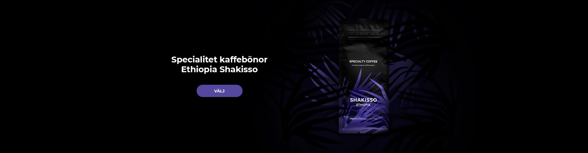 Specialty coffee Ethiopia Shakisso