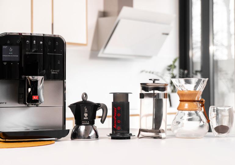 Kahvinvalmistusmenetelmät