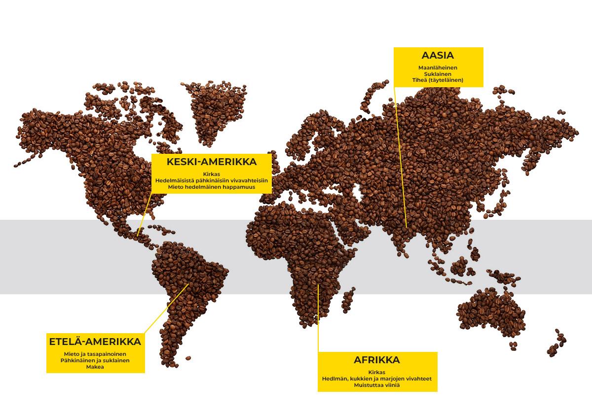 Kahvialueet