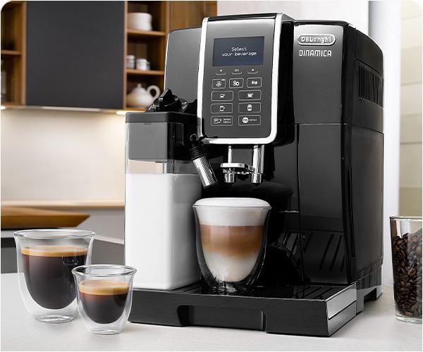 10 kahvijuomaa yhdellä kosketuksella