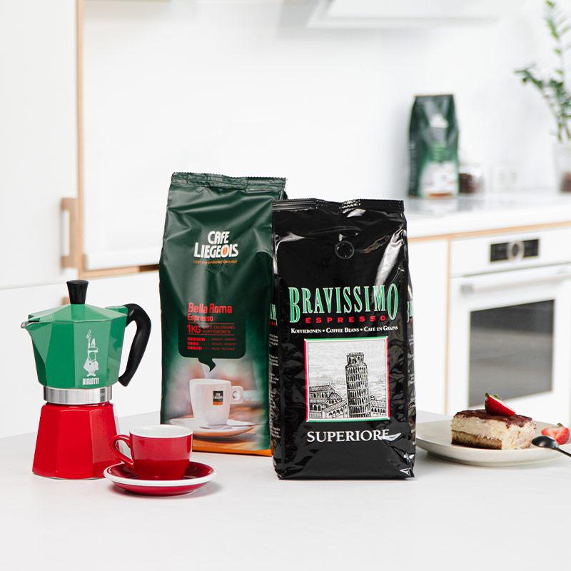 Kahvimatka. Italia