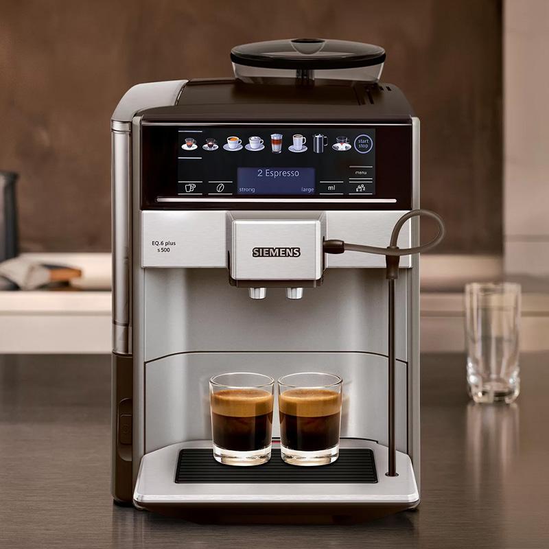 Aromadouble shot- toiminto ilman kitkeryyttä vahvaa kahvia varten
