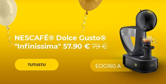 "Kahvikone NESCAFÉ® Dolce Gusto® ""Infinissima EDG 160.A"" vain 57.90 € 79 €"
