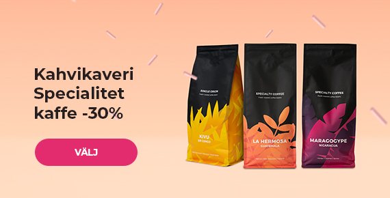 Kahvikaveri Specialitet kaffe -30%