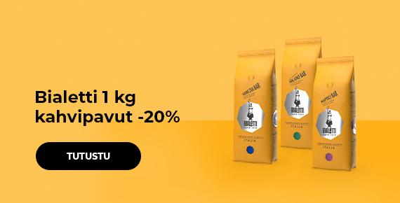 Bialetti 1 kg kahvipavut -20%