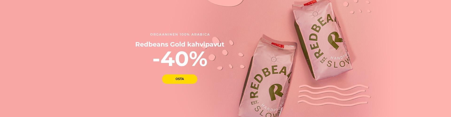 Redbeans Gold kahvipavut -40%