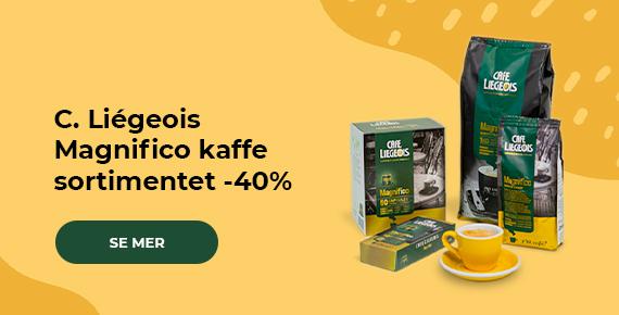 C. Liégeois Magnifico kaffe sortimentet -40%