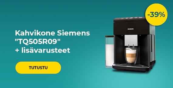 """Kahvikone Siemens """"TQ505R09"""" + lisävarusteet"""